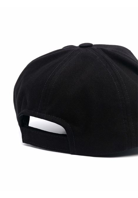tyronh hat man black in cotton ISABEL MARANT | Hats | 21ACQ0028-21A014J01BK
