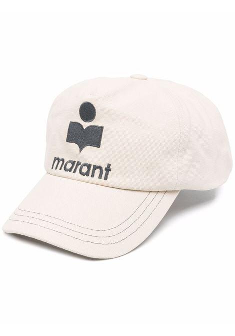 cappello tyronh uomo beige in cotone ISABEL MARANT | Cappelli | 21ACQ0028-21A014J23EC