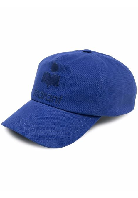 cappello tyronh uomo blu in cotone ISABEL MARANT | Cappelli | 21ACQ0028-21A014J30BU
