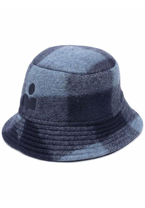 haleyh hat unisex blu in wool ISABEL MARANT | Hats | 21ACU0032-21A009J30MI