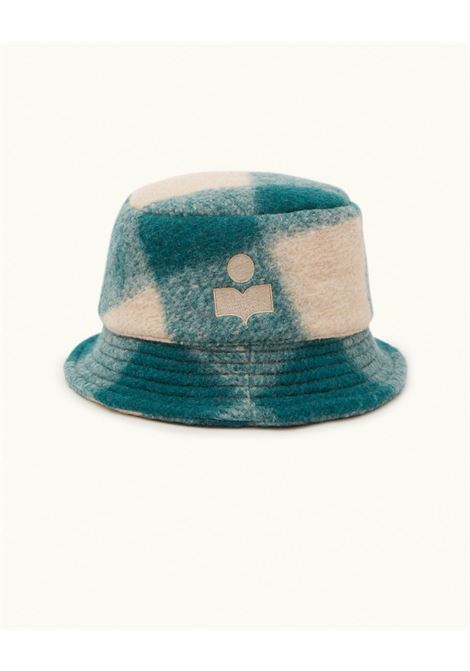 cappello haley unisex verde in lana ISABEL MARANT | Cappelli | 21ACU0032-21A009J60GR