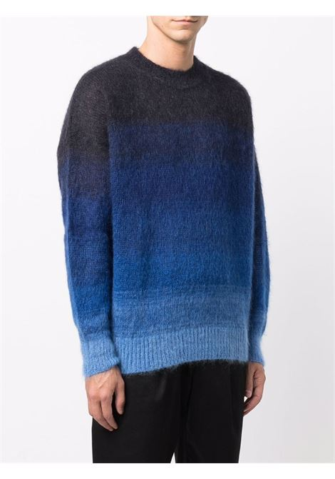 drussell sweater man blue in wool ISABEL MARANT | Sweaters | 21APU1275-21A054H30NA