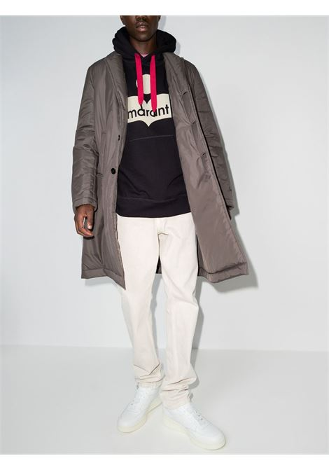 miley hoodie man black in cotton ISABEL MARANT   Sweatshirts   21ASW0055-21A031H02FK