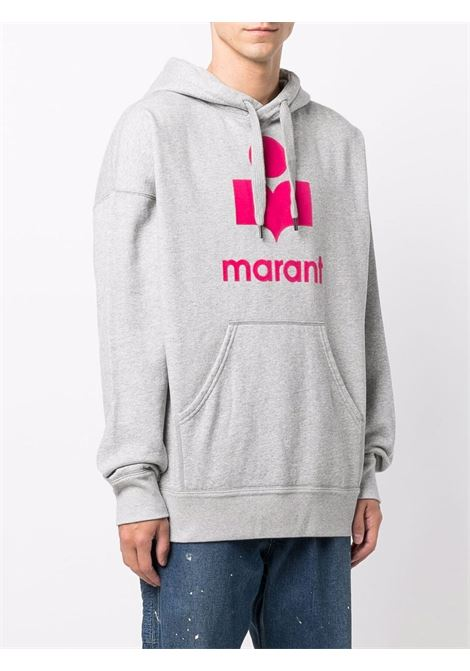 miley hoodie man gray in cotton ISABEL MARANT | Sweatshirts | 21ASW0055-21A032H02GY