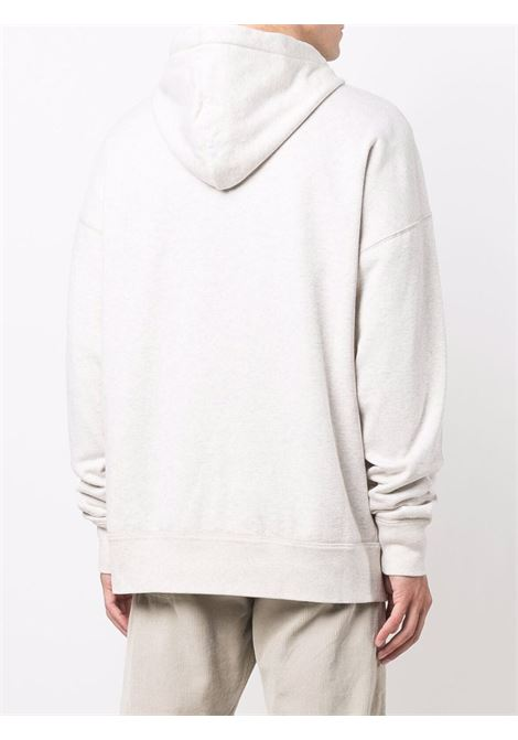 miley hoodie man white in cotton ISABEL MARANT | Sweatshirts | 21ASW0055-21A032HGEEC