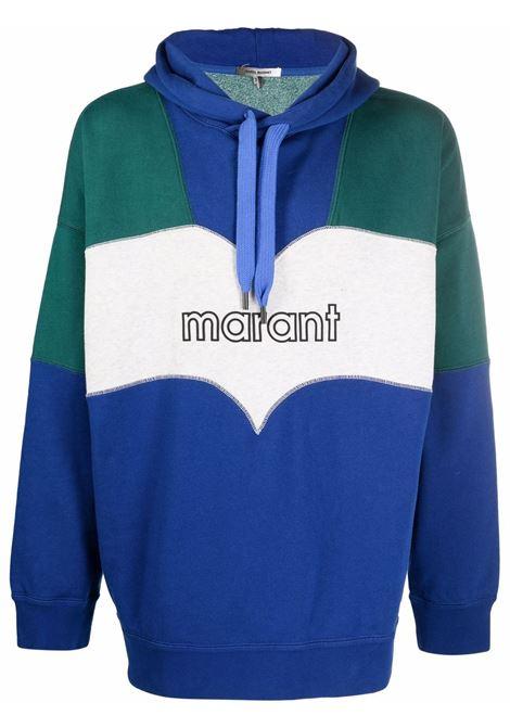 olan hoodie man multicolor in cotton ISABEL MARANT | Sweatshirts | 21ASW0301-21A035H30BU