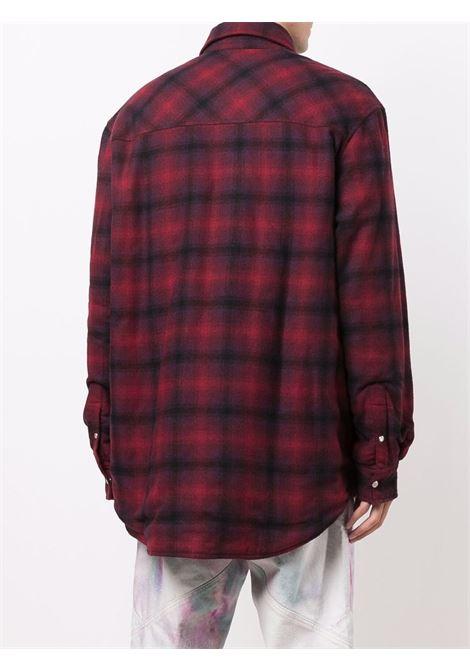 giacca ruddy uomo a quadri in lana ISABEL MARANT | Giacche | 21AVE1619-21A026H70RD