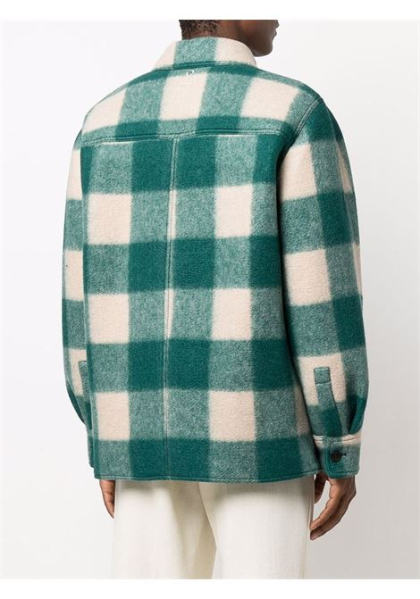 giacca kevron uomo verde in ISABEL MARANT   Cappotti   21AVE1623-21A008H60GR
