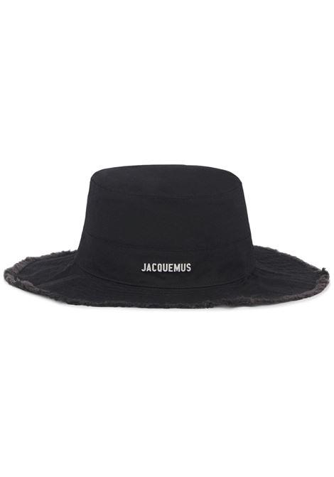 le bob artichaut hat unisex black in cotton JACQUEMUS | Hats | 213AC02-213990