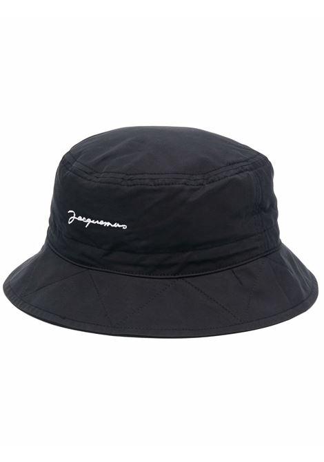 le bob picchu hat unisex black in cotton JACQUEMUS | Hats | 213AC10-213990