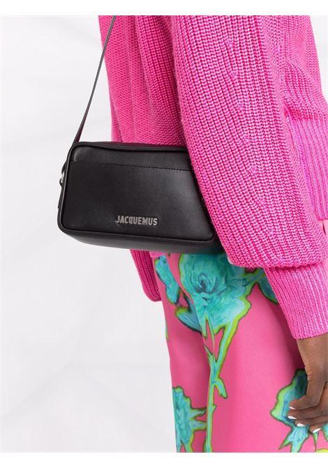 le baneto bag unisex black in leather JACQUEMUS | Bags | 213BA12-213990