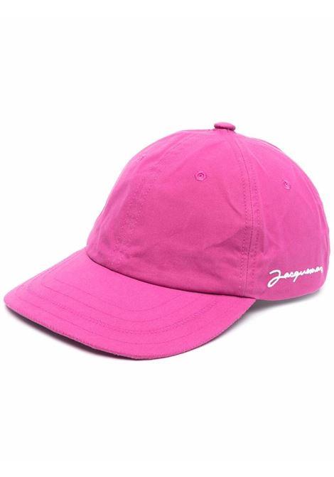 le casquette hat unisex pink in cotton JACQUEMUS | Hats | 216AC09-216450