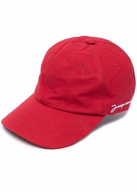 la casquette hat unisex red in cotton JACQUEMUS | Hats | 216AC09-216470