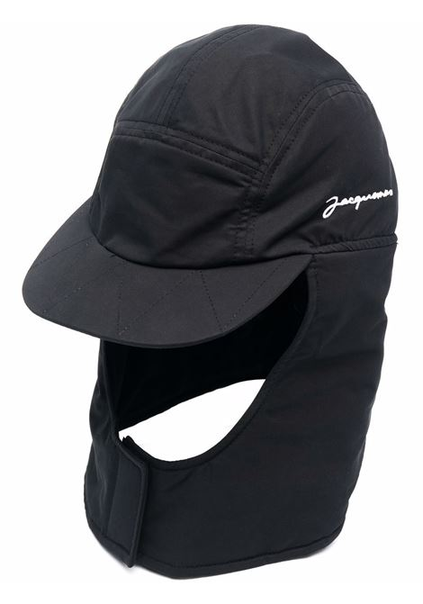le cagoule hat man black JACQUEMUS | Hats | 216AC23-216990