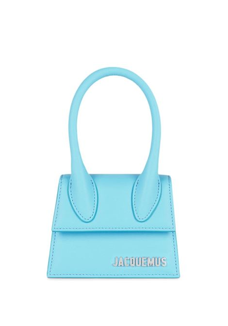 le chiquito homme bag unisex light blue in leather JACQUEMUS | Bags | 216BA01-216340