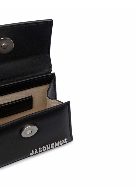 borsa le chiquito homme unisex nera in pelle JACQUEMUS | Borse | 216BA01-216990