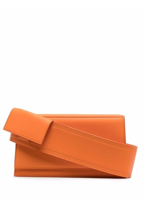 le bambino homme bag unisex orange in leather JACQUEMUS | Bags | 216BA03-216750
