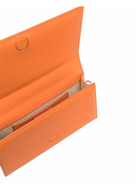 le bambino homme bag unisex orange in leather JACQUEMUS   Bags   216BA03-216750