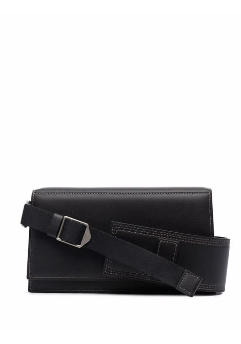 le bambino homme bag man black in leather JACQUEMUS | Bags | 216BA03-216990