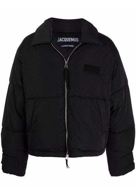 le doundoune flocon jacket man black JACQUEMUS | Jackets | 216BL003-1320990