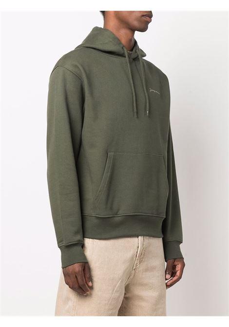 felpa brode uomo verde in cotone JACQUEMUS | Felpe | 216JS30-216580