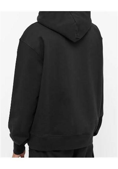 le sweatshirt brode man black in cotton JACQUEMUS | Sweatshirts | 216JS30-216990