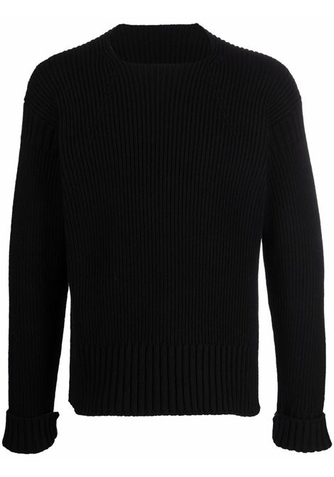 maglione la maille baja uomo nero JACQUEMUS | Maglieria | 216KN01-216990