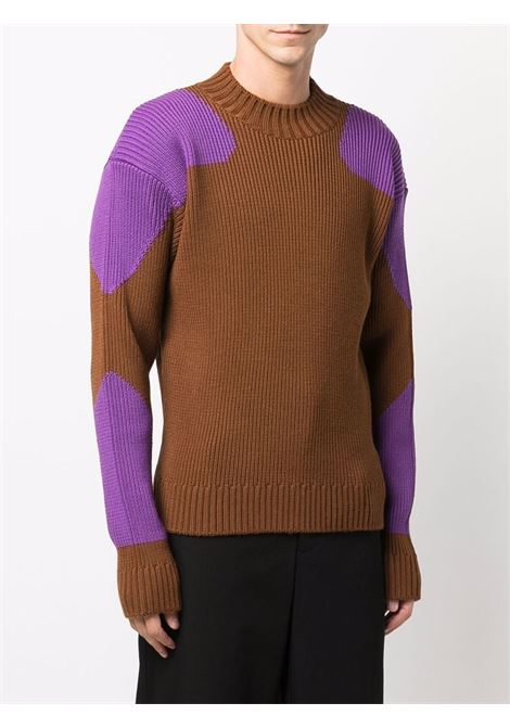 la maille giro sweater man brown  JACQUEMUS | Sweaters | 216KN12-216850