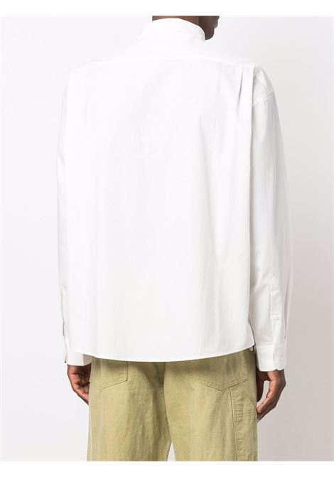 la chemise henri shirt man white in cotton JACQUEMUS | Shirts | 216SH03-2161AM