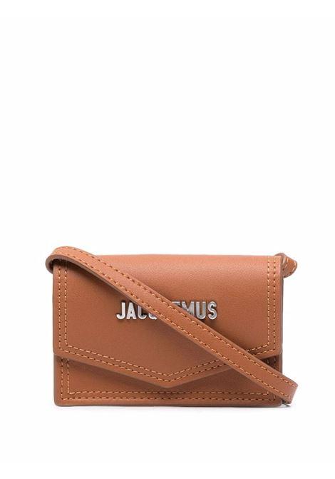 le porte azur bag unisex brown in leather JACQUEMUS | Bags | 216SL04-216810
