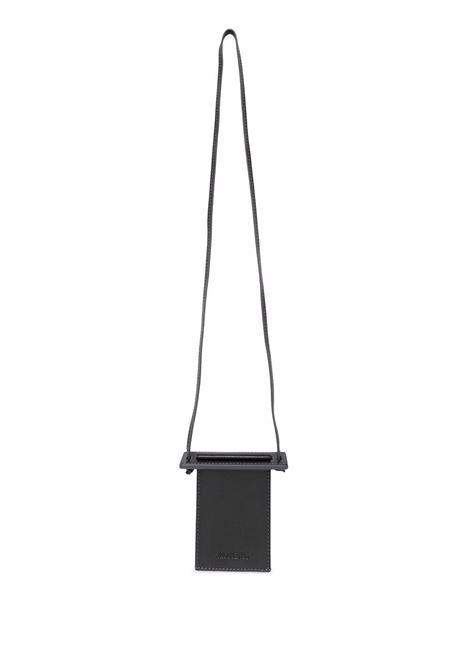 le porte terra wallet man black in leather JACQUEMUS | Wallets | 216SL07-216990