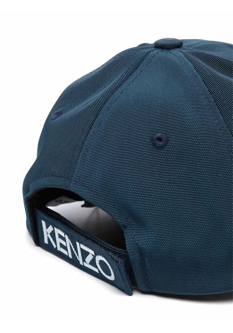 hat with embroidery unisex blue in cotton KENZO | Hats | FA65AC301F2077