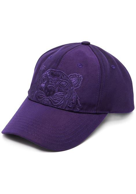 cappello con ricamo unisex viola in cotone KENZO   Cappelli   FA65AC301F2080
