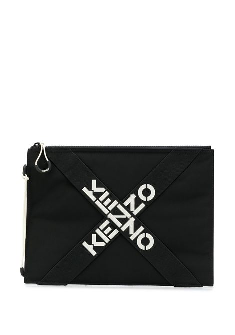 clutch con logo unisex nero KENZO   Marsupi   FA65PM222F2199