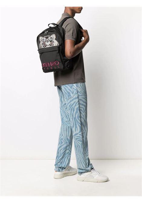 logo backpack unisex black KENZO | Backpack | FA65SF300F2099G