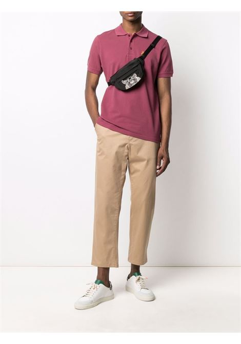 belt bag with embroidery unisex black KENZO | Belt Bag | FA65SF307F2099G