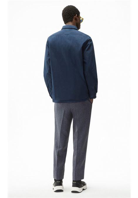 shirt jacket blue man KENZO | Shirts | FB65CH4609CD79