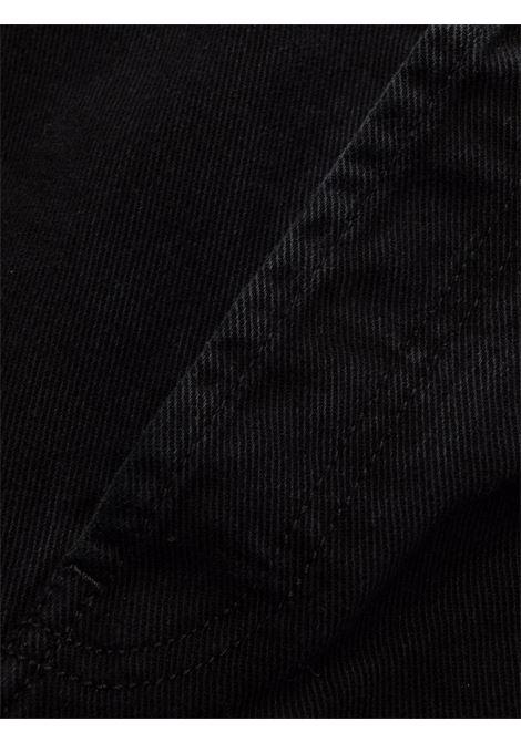 jeans dritti uomo neri KENZO | Pantaloni | FB65DP2002ED99