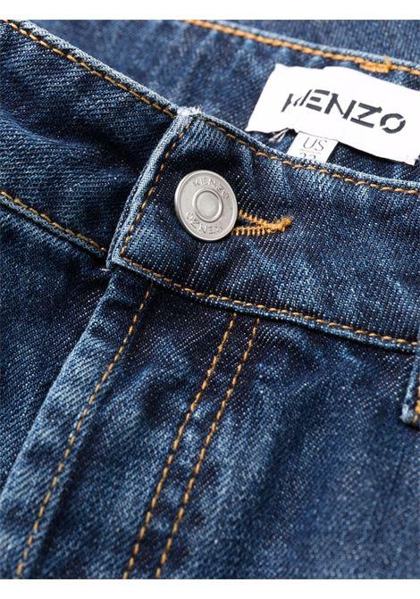 jeans dritti uomo denim KENZO | Jeans | FB65DP2002FA76