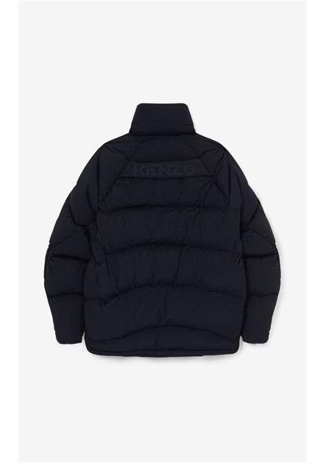 padded down jacket man black KENZO | Jackets | FB65OU1301NR99