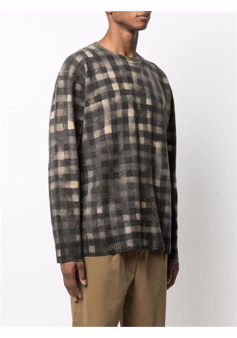 Checked wool jumper Man KENZO | Sweaters | FB65PU6263CA88