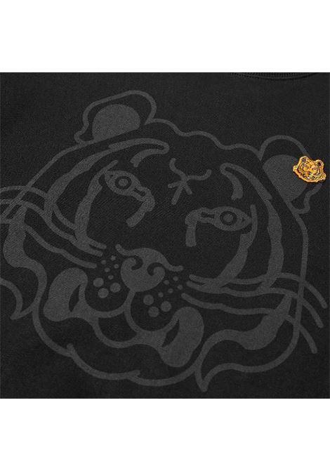 logo sweatshirt man black in cotton KENZO | Sweatshirts | FB65SW0054MO99