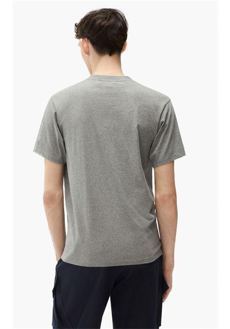 T-shirt tiger Grigia in Cotone Uomo KENZO   T-shirt   FB65TS0204YA95