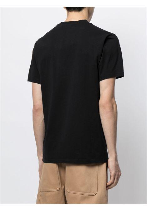 t-shirt con logo uomo nera in cotone KENZO | T-shirt | FB65TS0204YA99