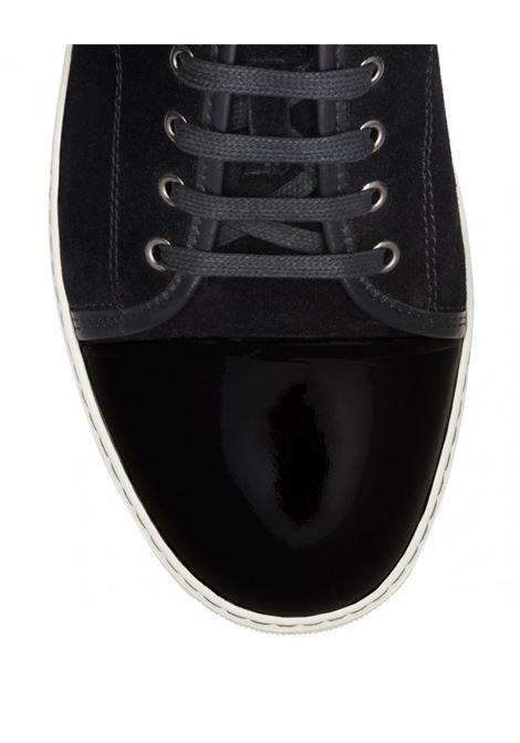 captoe sneakers uomo nere in pelle LANVIN | Sneakers | FM-SKDBB1-VBAL-P1510