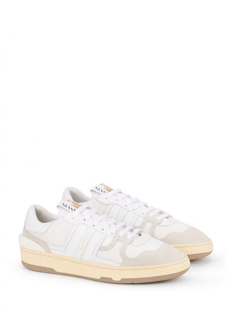sneakers clay uomo bianche in pelle LANVIN | Sneakers | FM-SKDK00-NASH-A2000