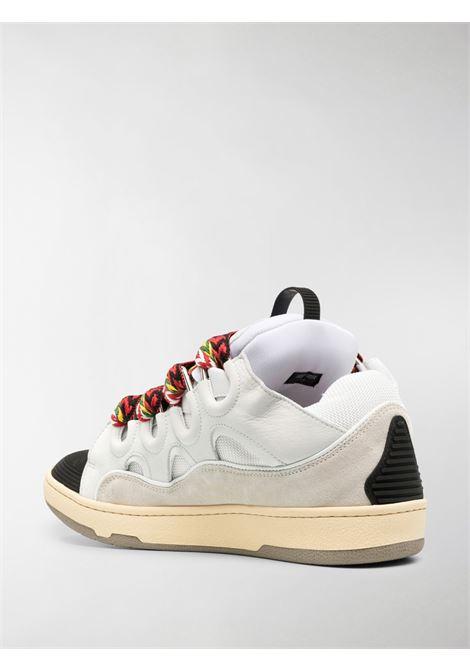 sneakers skate uomo bianche LANVIN | Sneakers | FM-SKRK11-DRAG-A2000