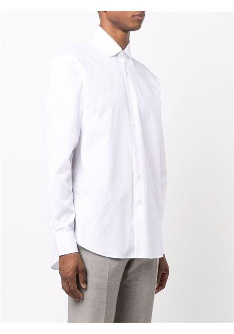 cotton shirt man white  LANVIN | Shirts | RM-SI0027-S005-A2101