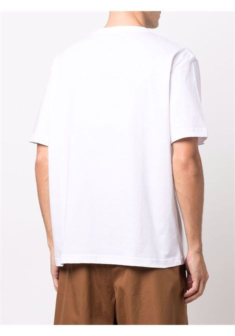 regular t-shirt man white in cotton LANVIN | T-shirts | RM-TS0002-J121-H2101