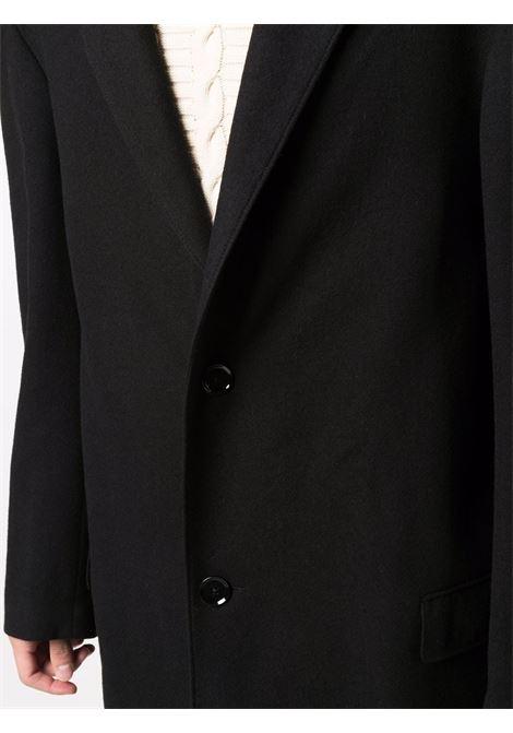 suit coat man black in wool LEMAIRE | Coats | M 213 CO167 LF608999